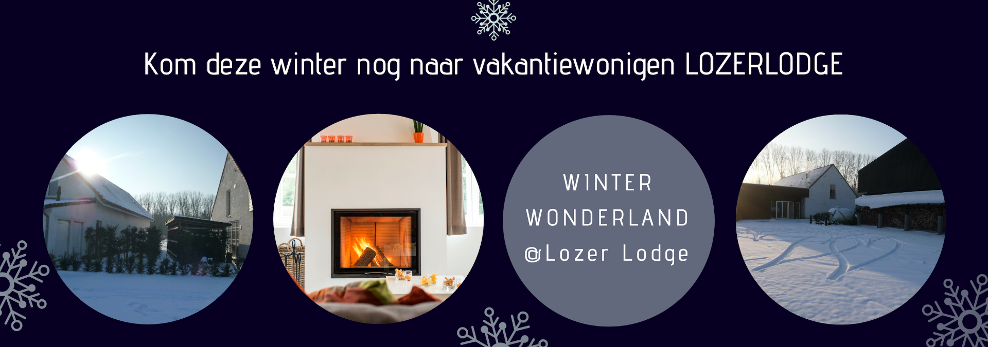 Vakantiewoning Lozer Lodge - Winter - grote familie